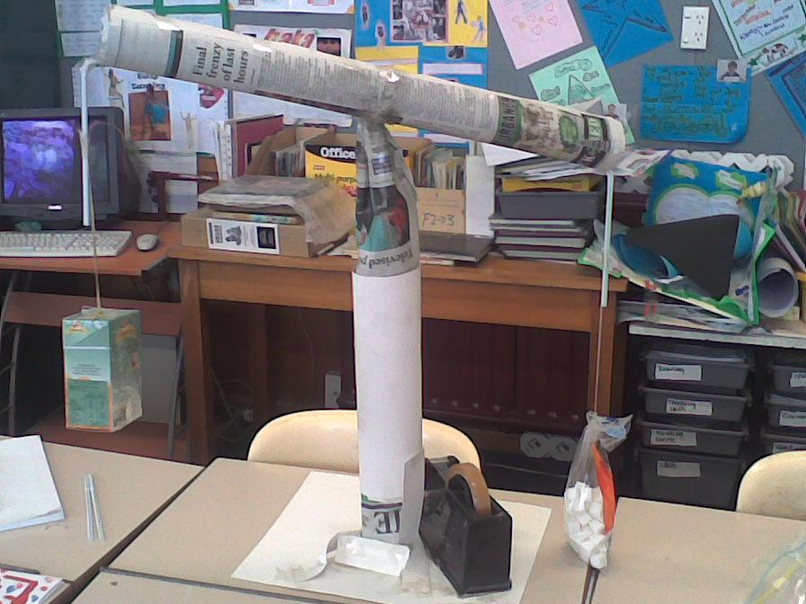 Darfield's weighing machine
